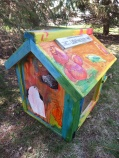 Little Free Library to Be Auctioned 001
