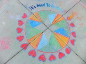 mandala 92015 chalk welcome