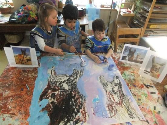 heartland llama art