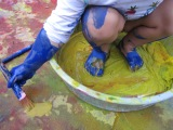 Paint Puddles andFeet