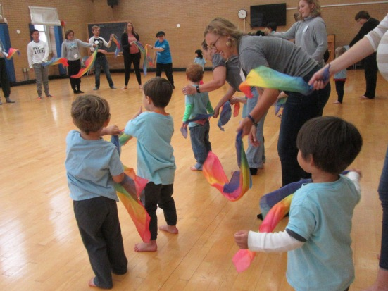Movement with Renna at Lathrope Hall 105